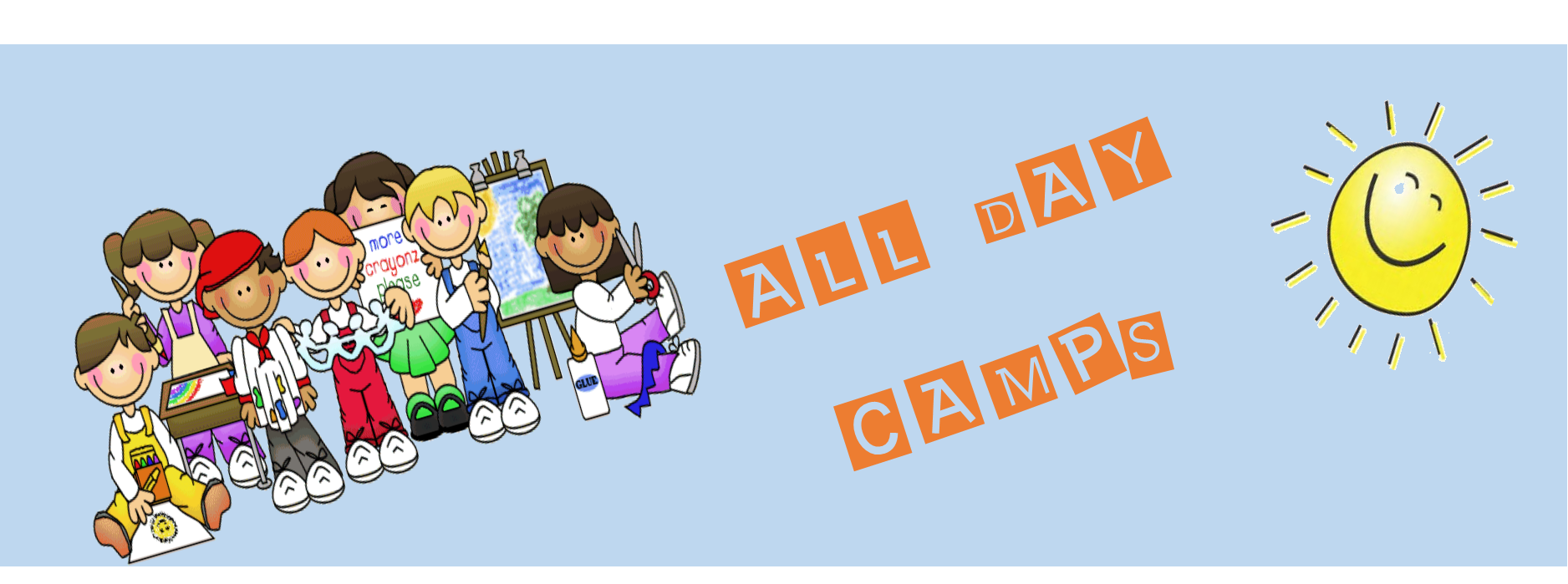 all day camp page header
